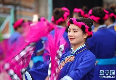 """贵州天柱举行""""四十八寨歌节"""""""