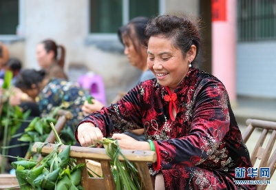 贵州玉屏:棕香迎端午