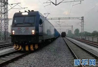 端午假期武汉开出今年第70列中欧班列
