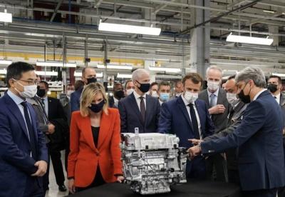 携手中企 法国汽车制造业加速电动化