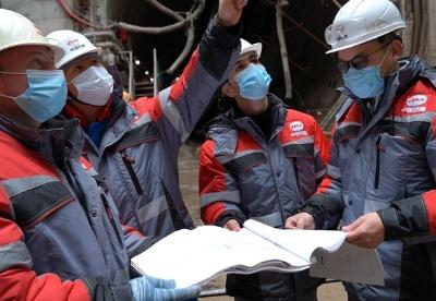 中国企业在欧洲首个大直径盾构项目首条隧道在莫斯科成功贯通