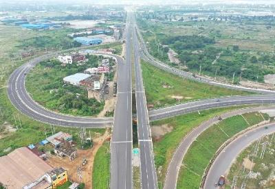 中交集团完成孟加拉国第一条封闭式高速公路改扩建