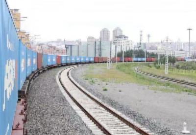 绥芬河铁路口岸进出境中欧班列同比增加167.5%