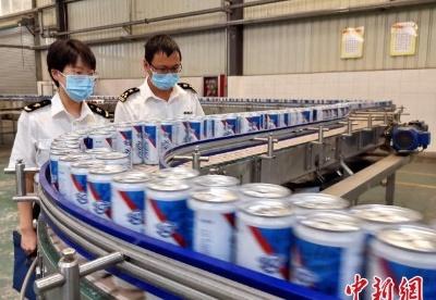 江西啤酒首次出口缅甸
