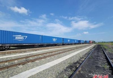 吉林对俄铁路货运量大增 助推中欧贸易发展