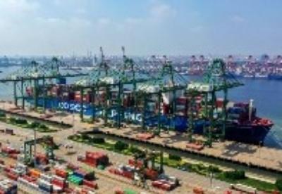天津港集团货物吞吐量创历史同期最高水平