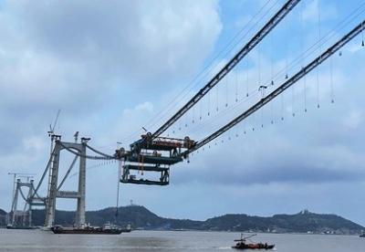 两桥合建、三大首创 这座世界级桥梁将在年底建成
