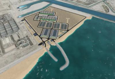 中国电建日前成功签约沙特阿拉伯朱拜勒三期B独立海水淡化项目