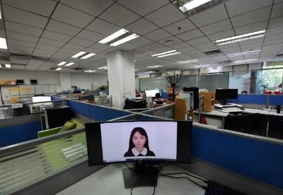印专家:虚拟学生展现中国的人工智能雄心