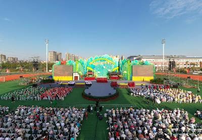 """""""唱支山歌给党听""""第八届中国农民歌会在安徽滁州唱响"""