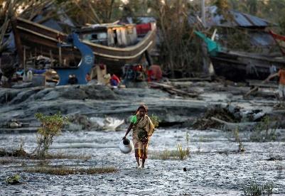 气候变化如何加剧孟加拉国脆弱性