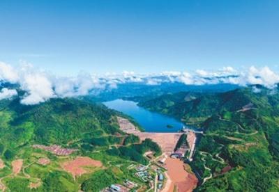 老挝南欧江水电站全流域投产发电