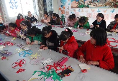 蚌埠固镇县:精心建管乡村少年宫   打造孩子的快乐家园