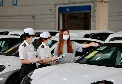 西永综保区整车保税仓储规模化运行一周年成效明显