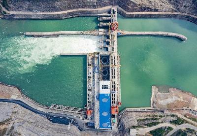 金沙水电站全面建成投产发电