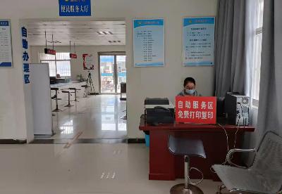 """安徽泗县:开设""""政务公开专区"""" 提升基层便民服务水平"""