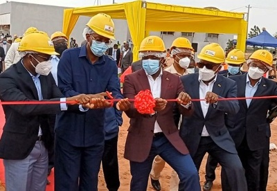 中企承建安哥拉东部地区石油天然气铁路运输专用线顺利移交