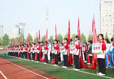 """六安裕安区:安徽省青少年""""未来之星""""阳光体育大会启幕"""