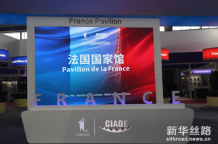 France Pavilion debuts at CIADE 2018 in Sichuan Province