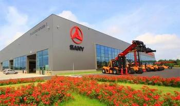 China heavy equipment maker Sany expects profit surge in H1