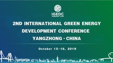 The Second International Green Energy Development Conference