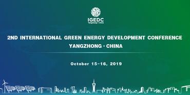 2nd International Green Energy Development Conference