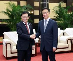 China, Singapore agree to enhance BRI, trade cooperation