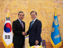 China, South Korea agree to expand cooperation, promote trade