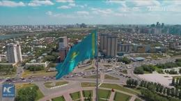 Kazakhstan's first light rail project built by Chinese firms