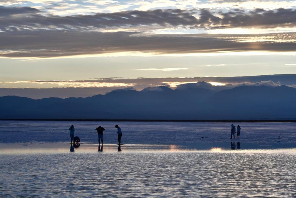 美丽中国:青海茶卡盐湖