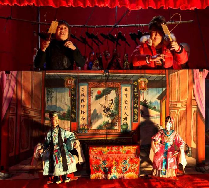 大美晋江:提线木偶戏