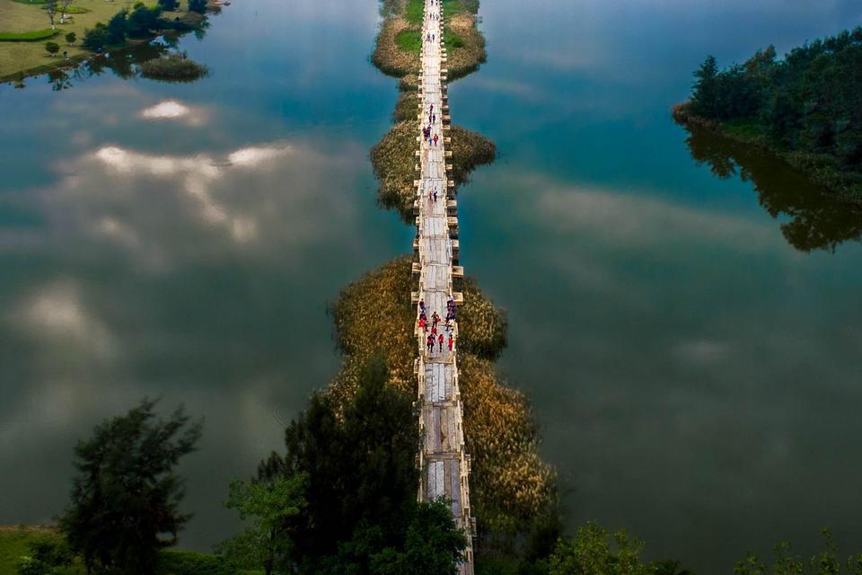大美晋江:安平桥