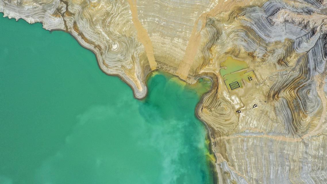 美丽中国:新疆下坂地水库
