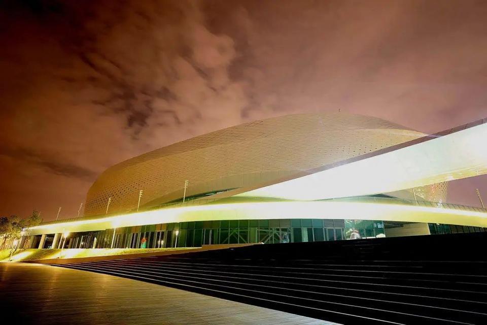 Jinjiang Gymnasiade Sports Center adjusts exterior lighting