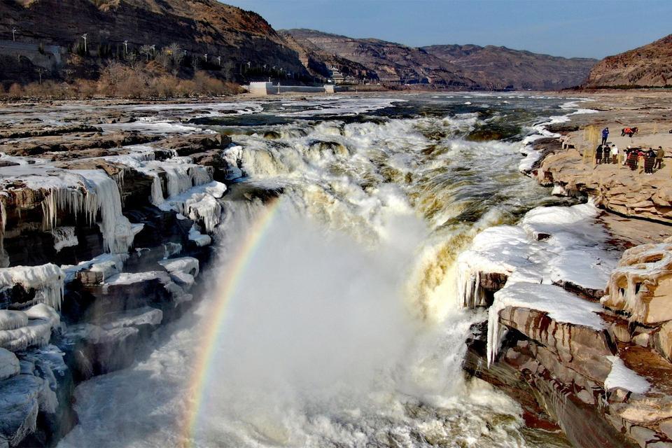 New ice jam flood of Yellow River