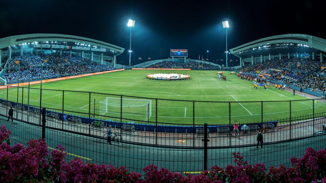 First match of KELME 2019 FISU University World Cup-Football