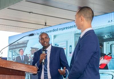 """""""一带一路""""非洲重点项目蒙内铁路开通运营1000天"""