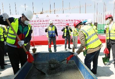 中企承建埃及新首都中央商务区项目取得实质性进展