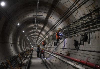 呼和浩特地铁建设有序推进