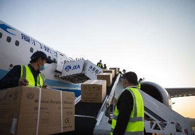 江西开通医用防护物资国际航空货邮包机