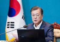 《板门店宣言》签署两周年  文在寅呼吁韩朝合作应对疫情