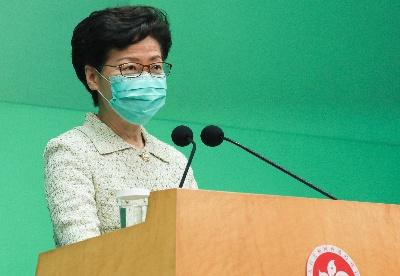 林郑月娥:香港特区政府5月4日起逐步恢复正常服务