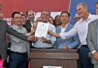 比亚迪同巴西圣保罗市签约云轨项目