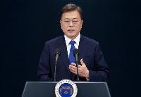 文在寅说将进一步完善韩国防疫体系