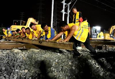 合安高铁施工进入最后冲刺阶段
