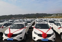 共享发展成果 方大九钢奖励员工4100余台轿车