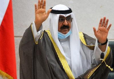 科威特新任王储米沙勒宣誓就职