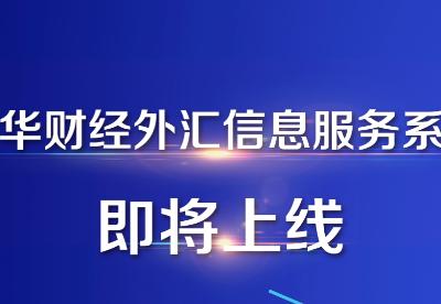 新华财经外汇信息服务将率先落地广西