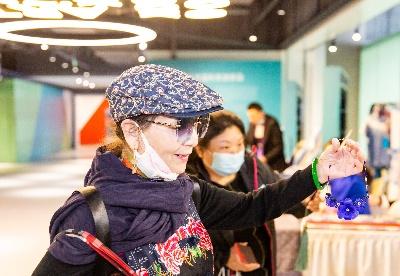 第六届中国非遗博览会在山东济南国际时尚创意中心开幕