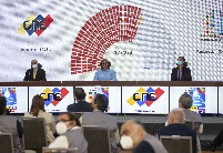 委内瑞拉执政党在议会选举中获胜